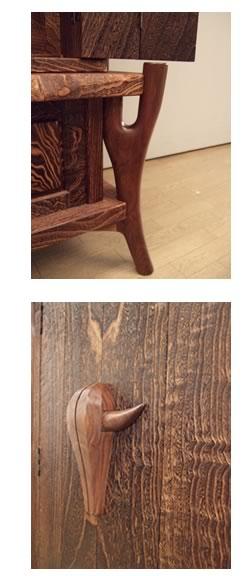 脚部、扉部