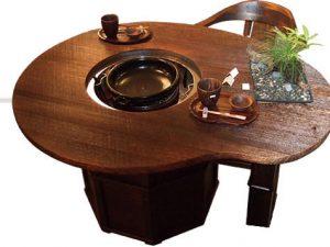 パレット型囲炉裏テーブル