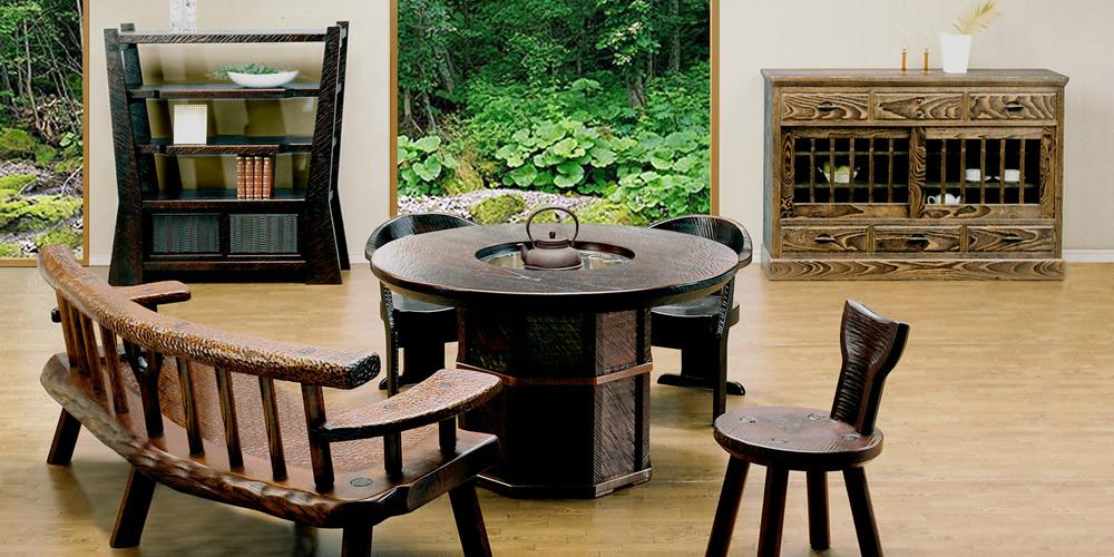 irori table